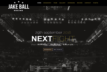 Jake Ball Boxing - Label once loved - Website by Big Clould Creative Web Design in Stratford upon Avon
